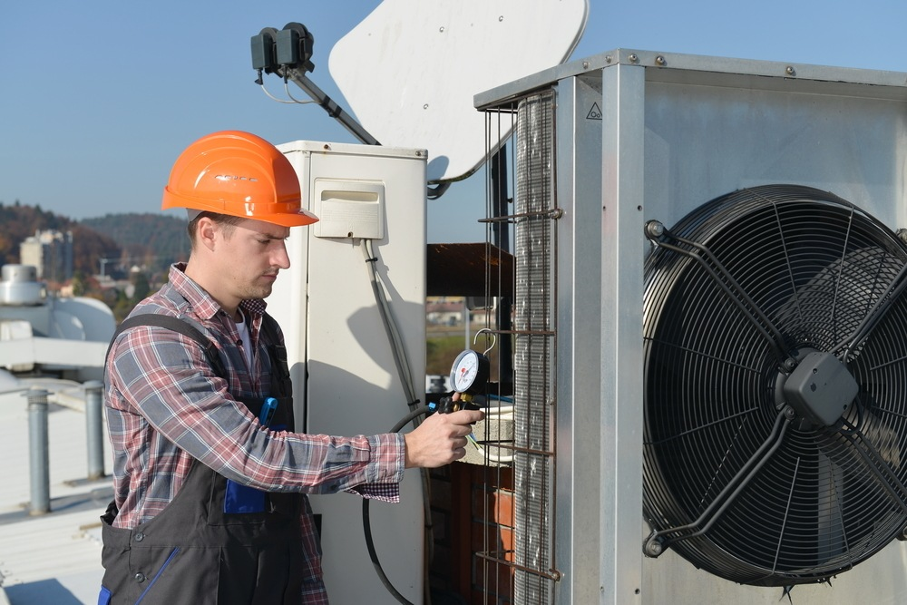 AC System Refrigerant Recharge